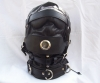 The Dreamer Leather Sensory Deprivation Hood - Oral Sex Capable
